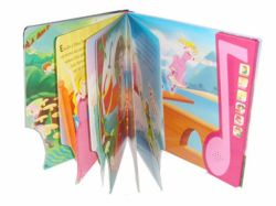 High Quality Colorful Hardcover Music Book with Music Box Printing