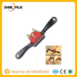"""9""""/215mm Adjustable Hand Planer Woodworking Cutting Edge Planer Screw Spoke Shave Manual Woodworking Hand Tools"""