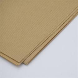 M. G. Ribbed Kraft Pape in Good Quality and Competitive Price