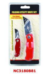 Metal Case Snap off Knife Heavy Duty Knife (NC1529)
