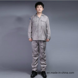 65% Polyester 35%Cotton Long Sleeve Cheap High Quality Safety Workwear Suit