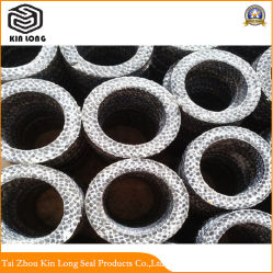 Carbon Fiber Packing Ring Used for Weak Acid, Alkali, Salt, Organic Solvent, Seawater, Industrial Wastewater, Mineral Oil and Other Media