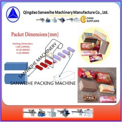 Wafer Biscuit Automatic Over Wrapping Package Machine (SWH 7017)