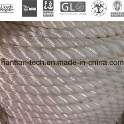 6 Strand PA Multifilament /Nylon Monofilament Ship Mooring Rope with Dimater Form 28-96mm (C-6)