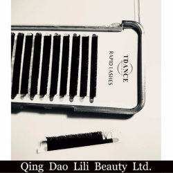Individual Rapid Blooming Wink Eyelash Extension Mink False Eye Lashes