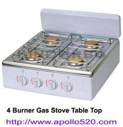 4 Burner Gas Stove Table Top