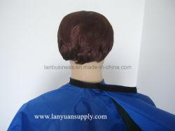 Pure Color Hot Sale Hair Cutting Shampoo Cape for Salon