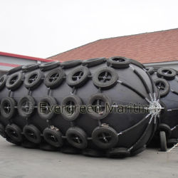 Suitable Price Boat Pneumatic Fender with Net