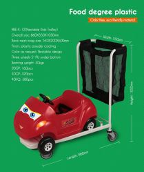 Shopping Mall Kids Trolley Cart for Rent