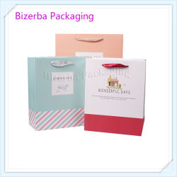 Professional China Gift Art Paper Bag Supplier with Gusset