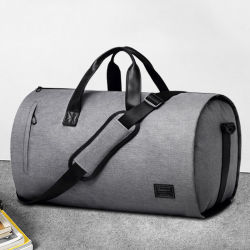 Fashion Promotional Waterproof Travelling Wholesale Large Capacity Duffle Sport Gym Fitness Travel Duffel Suit Garment Bag