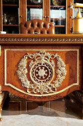 0062-1 Italy Royal House Suite Classic Study Room Furniture
