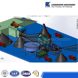 Waste Water Treatment System with Sludge Dewatering Centrifuge