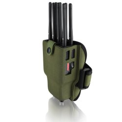 Portable 8 Antennas Mobile Cell Phone GSM Signal Jammer Signal Isolator