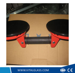 2 Claws Glass Suction Plate / Black Sand Single Suction Plate