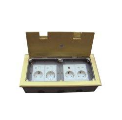 Large Capacity Electrical Socket/Residential Floor Boxes Hinged Lid OEM Factory