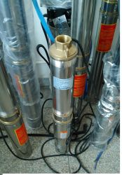 DC Brushless Solar Water Submersible Pump/PV Fountain Pumps