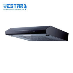European Style Push Bottom Slim Cooker Hood with Carbon Filter