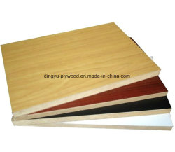 Factory Direct Supply MDF with Melamine Paper