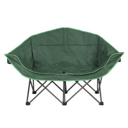 Etonnant Outdoor Camping Folding Double Moon Chairs For Camping, Fishing, Beach,  Picnic And Leisure