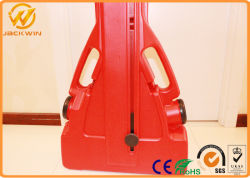 Wholesale HDPE Blowing Red Water Filled Expandable Plastic Barrier