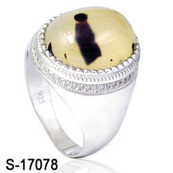 713ee9c6ef Factory Wholesale Man Ring New Designs 925 Sterling Silver Rings Natural Agate  Stone