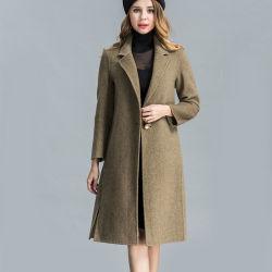 79f938b39b1 Trendy Popular Women Cold Proof Long Wool Coat for Winter