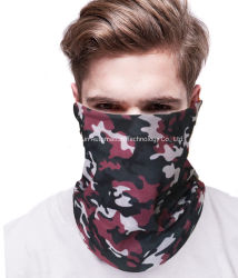 Camouflage Coolmax Outdoor Sports Magic Scarf Tube Bandana Customized Multi-Function Seamless Snood Headwear
