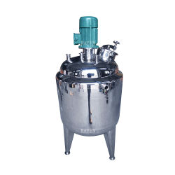 Sanitary Stainless Steel Slurry Agitator Tank Single Impeller Mixer