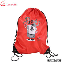 Factory Custom Marathon Sport Polyester Drawstring Bag
