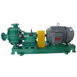 Anti-Abrasive Industrial Water Sand Salt Horizontal Centrifugal Slurry Pump