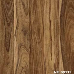 Clear and Big Wooden Grain Melamine Paper with Laminated Floor