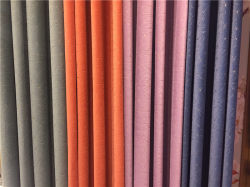 Dyeing and Brozing Frosted Velvet Curtain Fabric