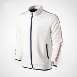 100% Polyester 280GSM Piping Men Custom Sportswear, Winter Jackets, Workout Clothes