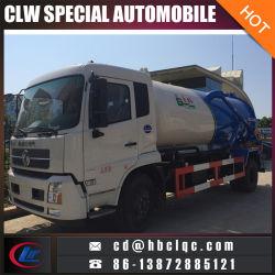 4X2 8000L 10000L Vacuum Tank Vehicle Sewer Sucking Tank Truck