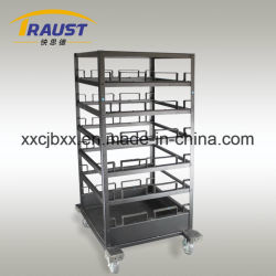 Stanchion Transporter Cart, Barriers Trolley Carts