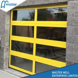 Transparent Sectional Commercial Door/Temperated Glass Garage Door/Frosted  Glass Garage Door