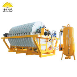 Ceramic Disc Filter Used in Mineral Tailings Slurry Dewatering