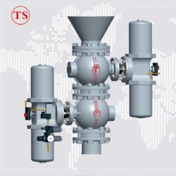 CF8 Slurry Transfer Dust Valve System
