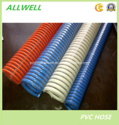 PVC Suction Spiral Reinforced Flexible Water Irrigation Pipe Garden Slurry Dredging Hose