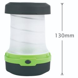 Portable Foldable ABS Camping LED Light