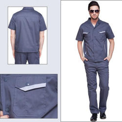 Men's Working Office Uniform for Facotry Workwear Uniforms Engineer