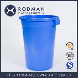 Home and Garden Rodman Recycle 150L HDPE Plastic Waste Bin
