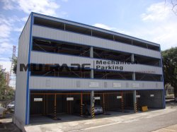 4-Story Vehicle Automated Puzzle Car Parking System Solutions