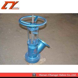 Direct Current Flange Connecting Y Type Ceramic Discharging Valve