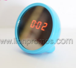 Lady Promotional Gift Creative Digital Clock with Mirror Function
