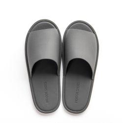 d6c1b38e474627 Custom Logo Leather Women Outdoor Sandal Men EVA Slippers