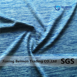 100% Polyester Weft Fabric for Sport Clothing