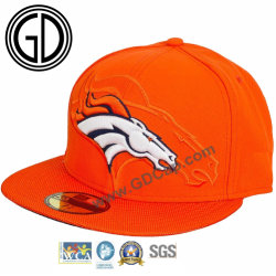 1014649b5f9 Custom Design Your Own Promotional Embroidery Logo Hat Flat Brim 6 Panel Snapback  Cap Hat