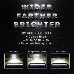 High Power 4row 8d 324W LED Offroad Lights Wholesale 15 Inch LED Bar Offroad
